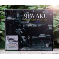 """仲野真世ピアノトリオ ガラスCD-R """"MIWAKU"""""""